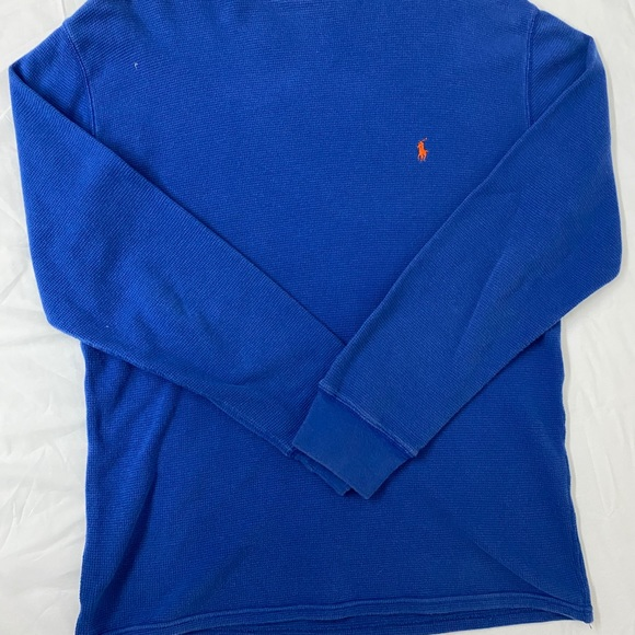 Polo Ralph Lauren Men's Thermal Blue